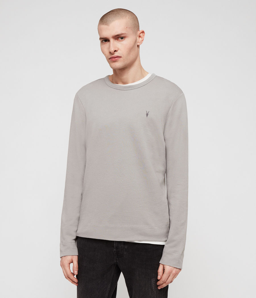 Men's Stan Crew Sweatshirt (putty_grey) - Image 4