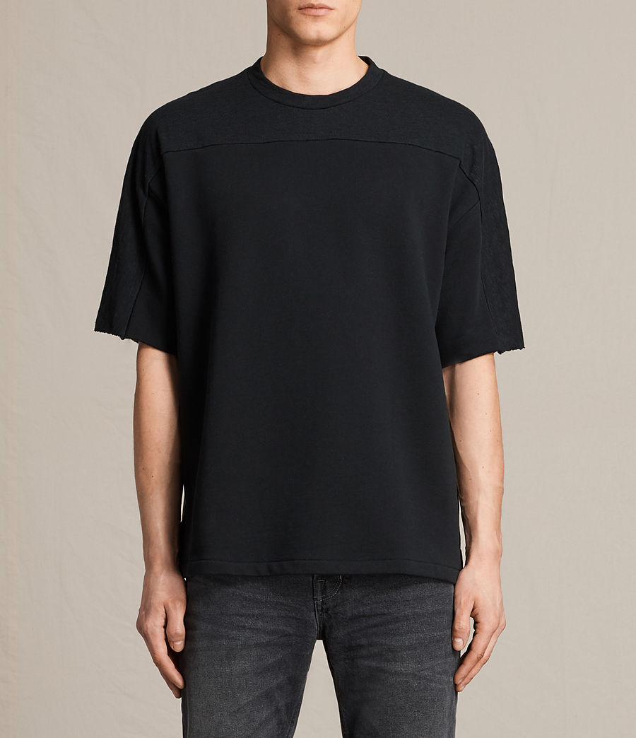 Uomo T-shirt maniche corte Harlston (jet_black) - Image 1