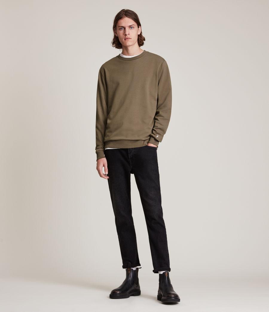 Herren Haste Crew Sweatshirt (peppered_brown) - Image 3
