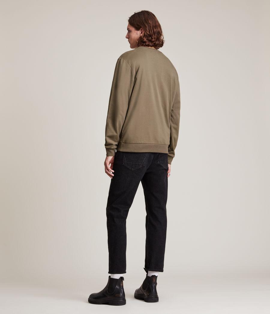 Herren Haste Crew Sweatshirt (peppered_brown) - Image 4