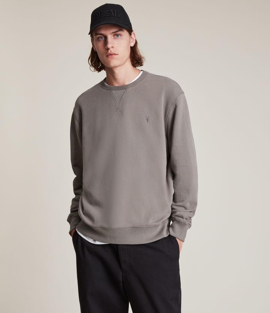 Mens Ollie Crew Sweatshirt (flint_grey) - Image 1