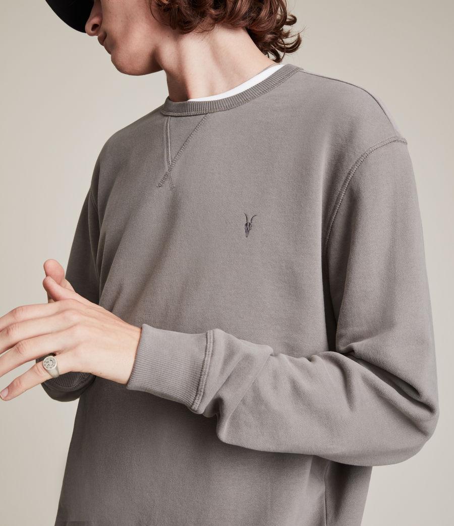 Men's Ollie Crew Sweatshirt (flint_grey) - Image 2