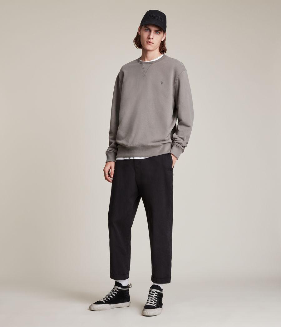 Men's Ollie Crew Sweatshirt (flint_grey) - Image 3