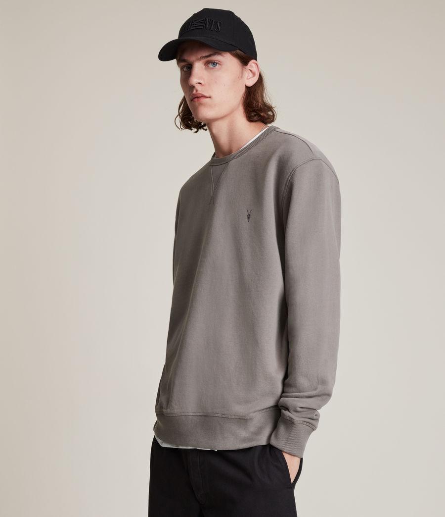 Mens Ollie Crew Sweatshirt (flint_grey) - Image 4
