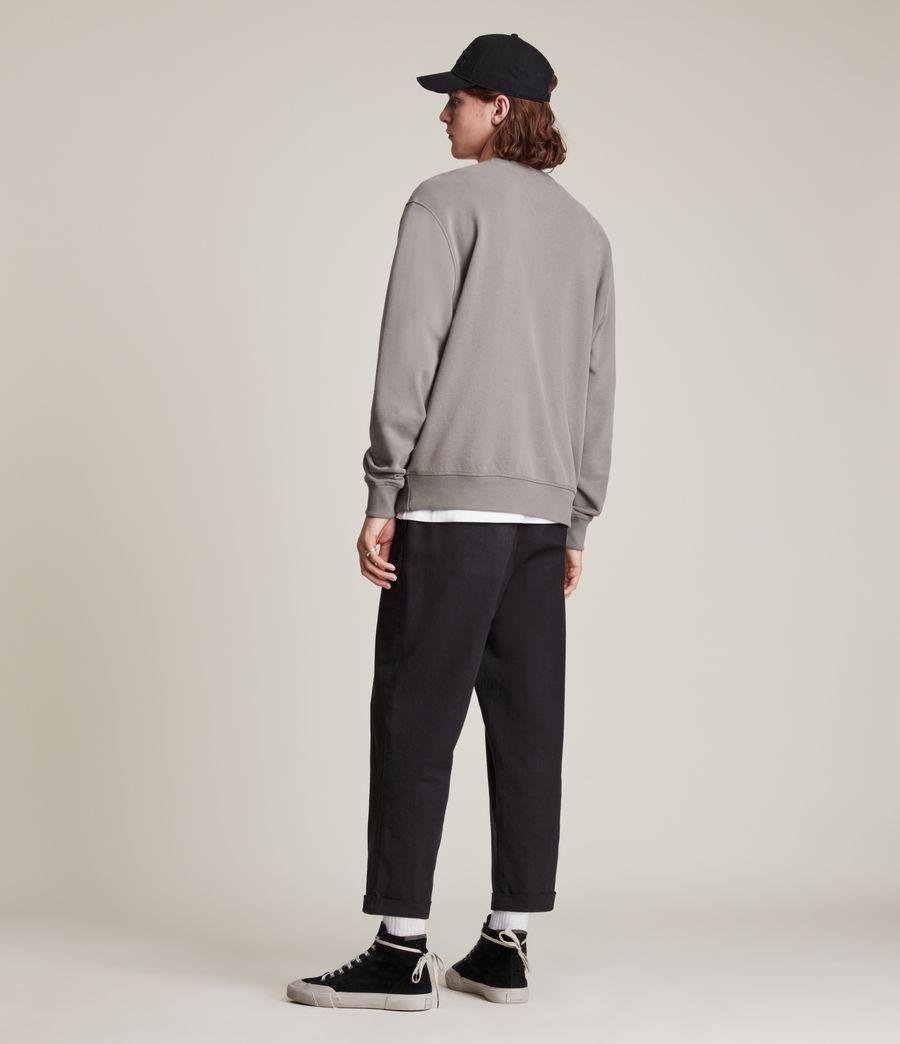 Men's Ollie Crew Sweatshirt (flint_grey) - Image 5