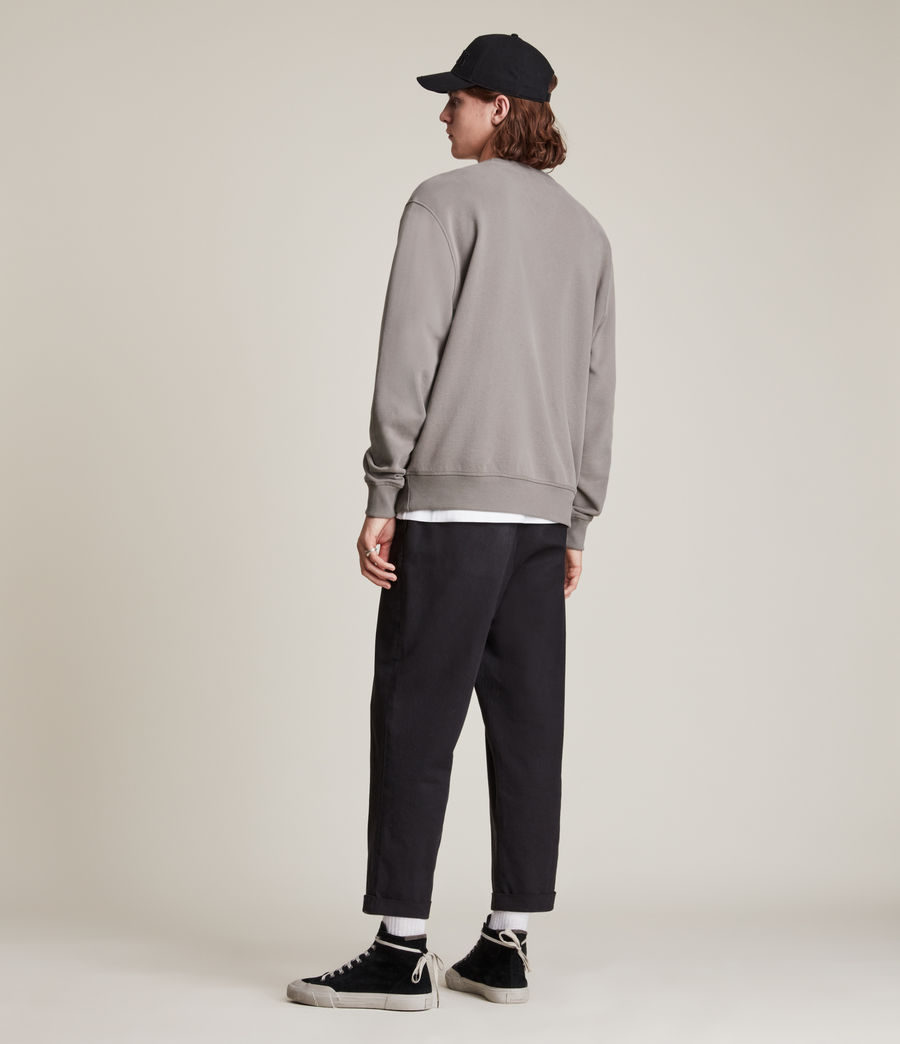 Mens Ollie Crew Sweatshirt (flint_grey) - Image 5