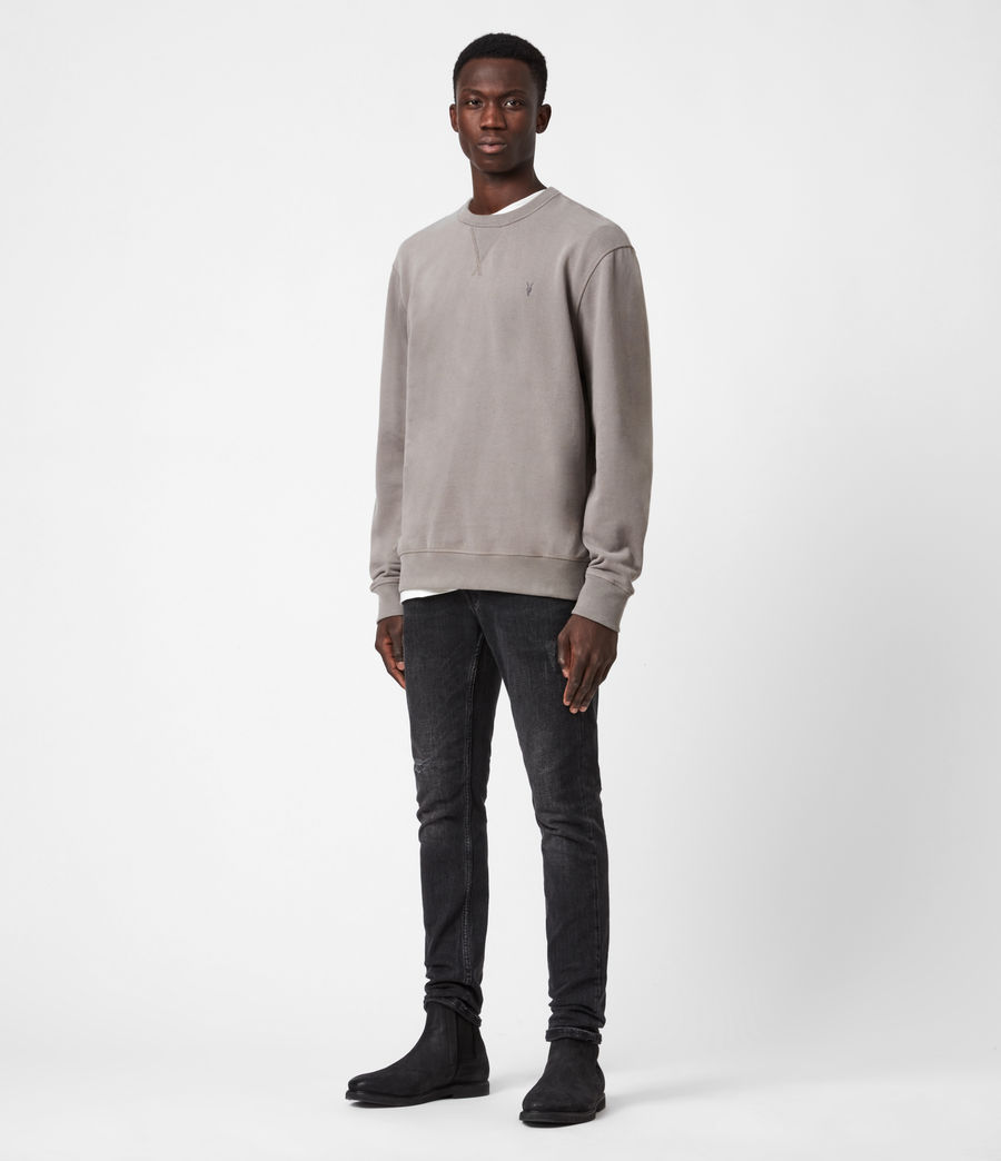Mens Ollie Crew Sweatshirt (flint_grey) - Image 6