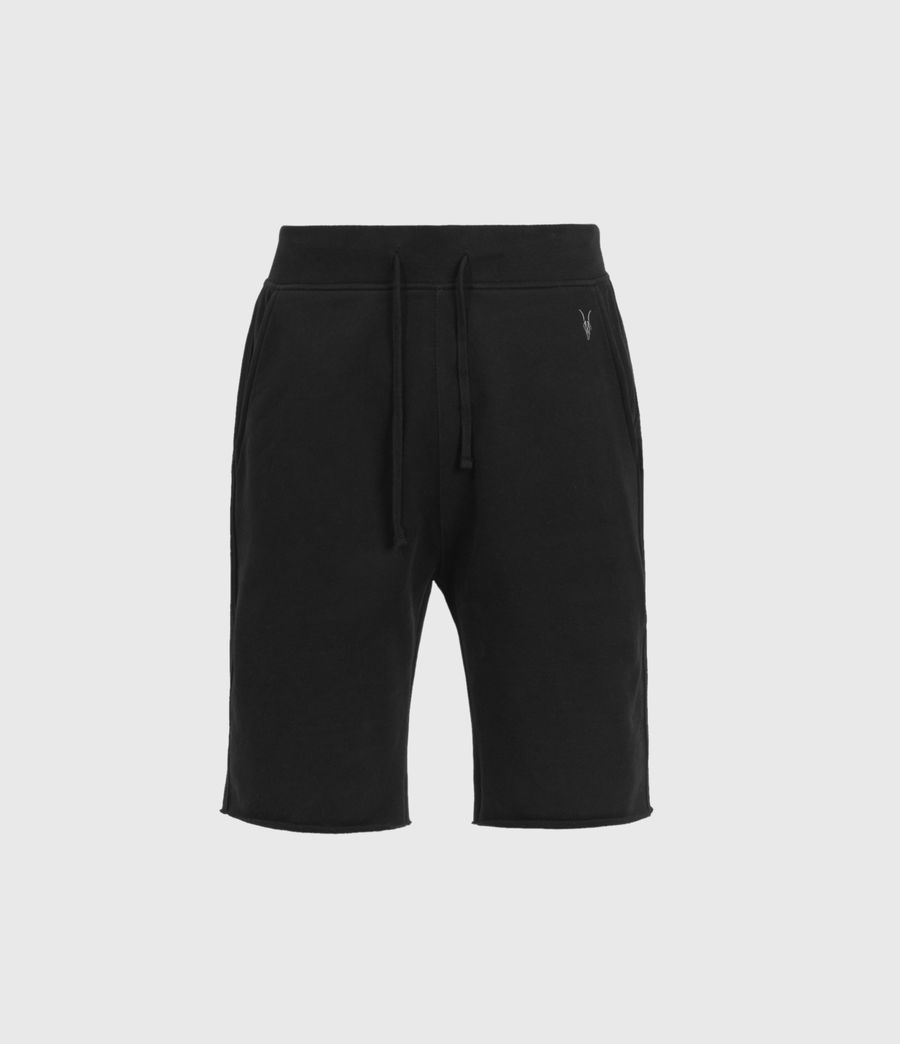 Mens Raven Sweat Shorts (black) - Image 1