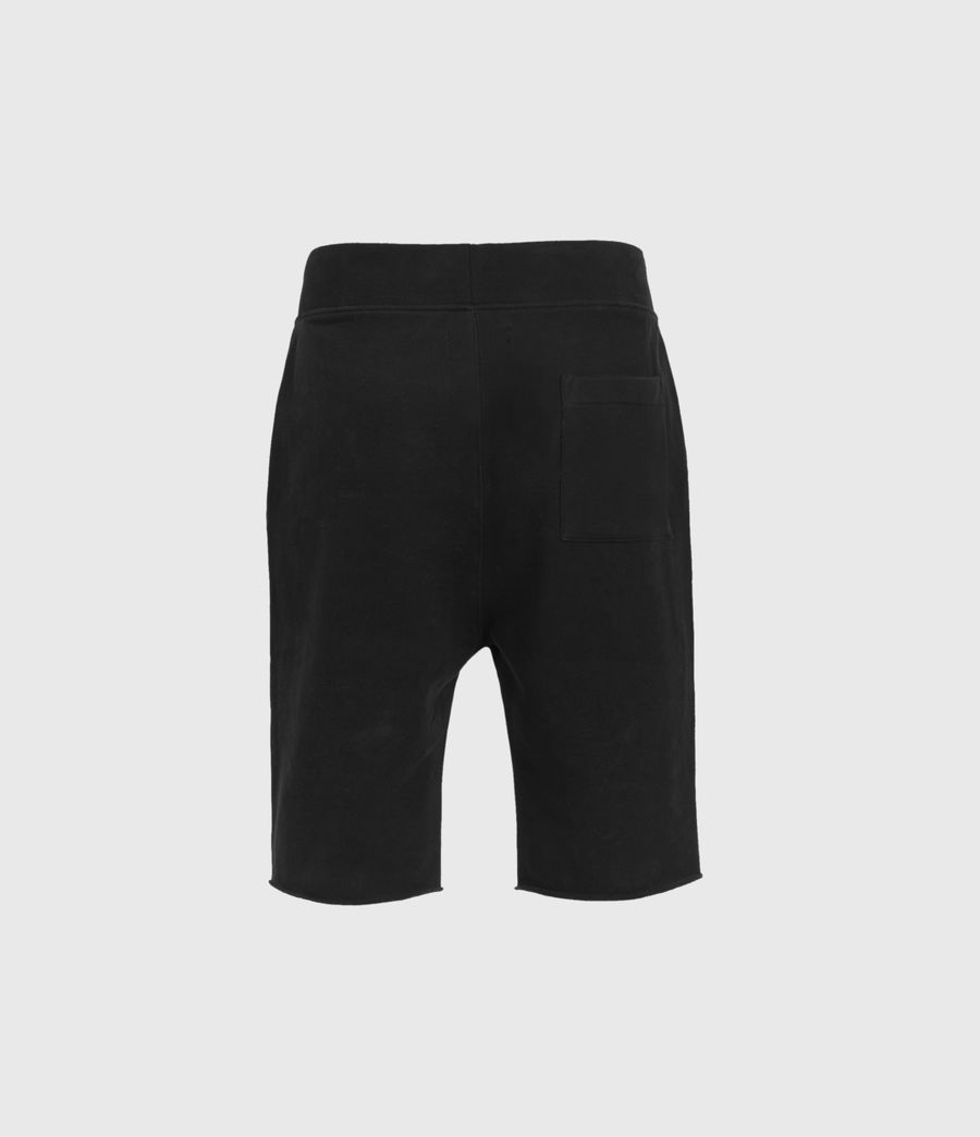 Mens Raven Sweat Shorts (black) - Image 2