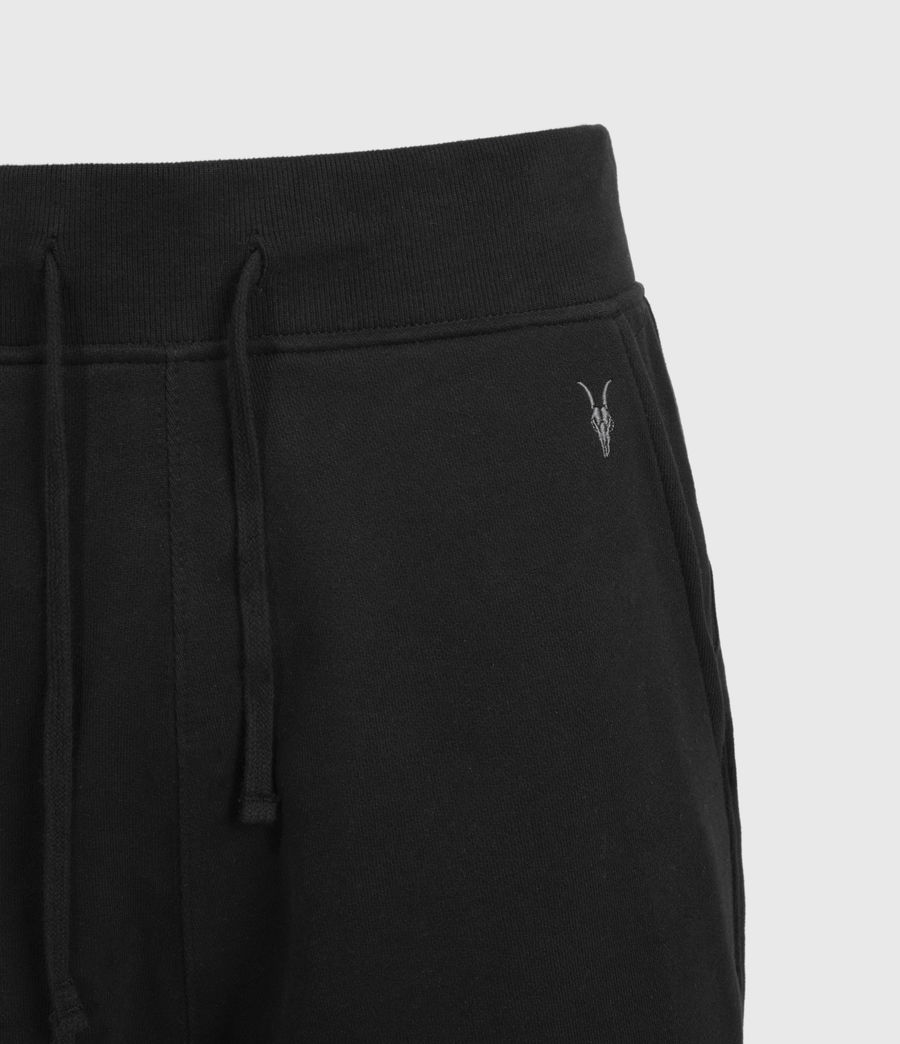 Mens Raven Sweat Shorts (black) - Image 3