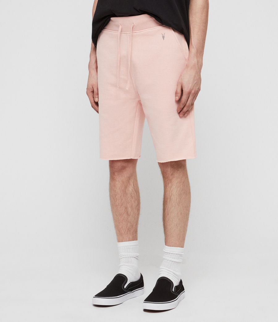 Men's Raven Sweat Shorts (coral_pink_marl) - Image 2