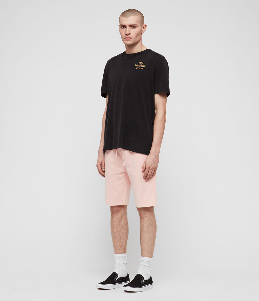 Hombres Shorts Raven (coral_pink_marl) - Image 4