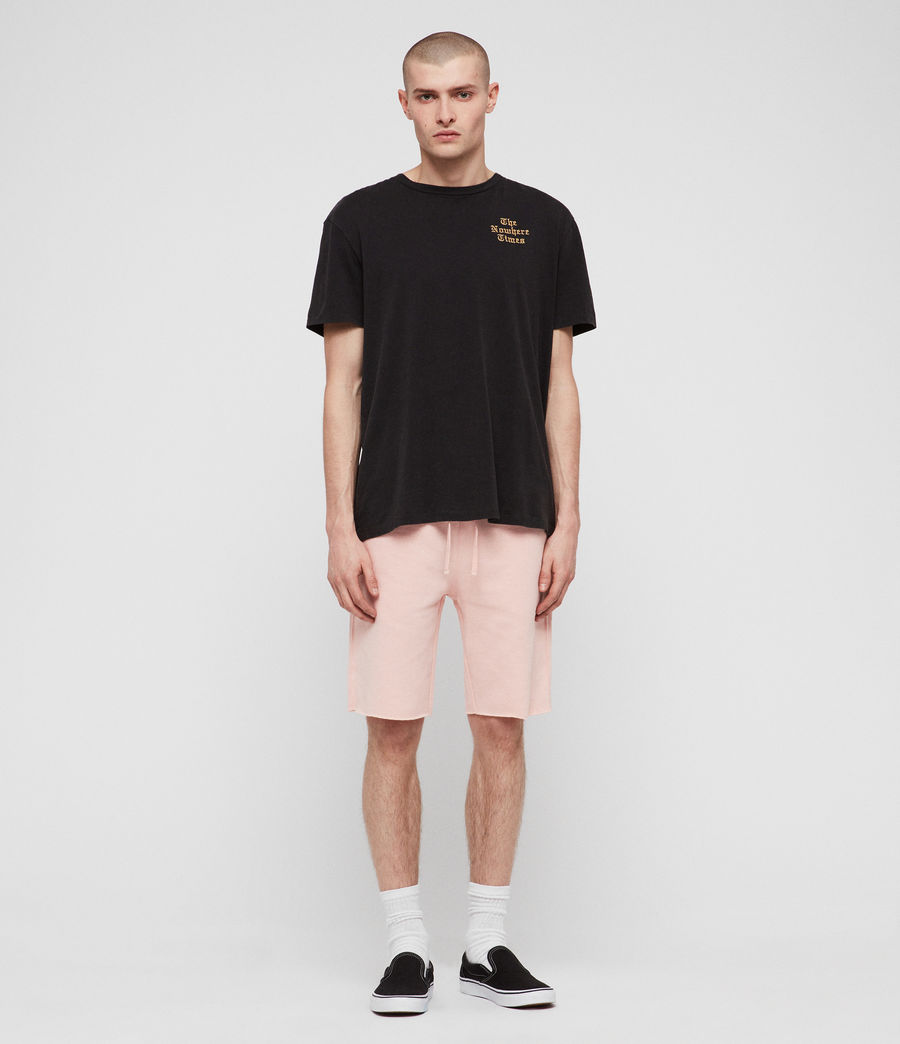 Hombres Shorts Raven (coral_pink_marl) - Image 5