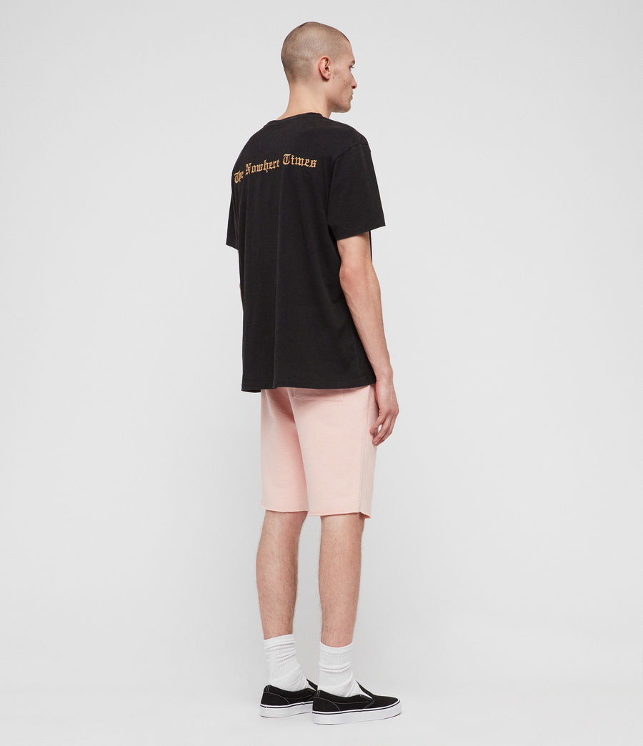 Hombres Shorts Raven (coral_pink_marl) - Image 7