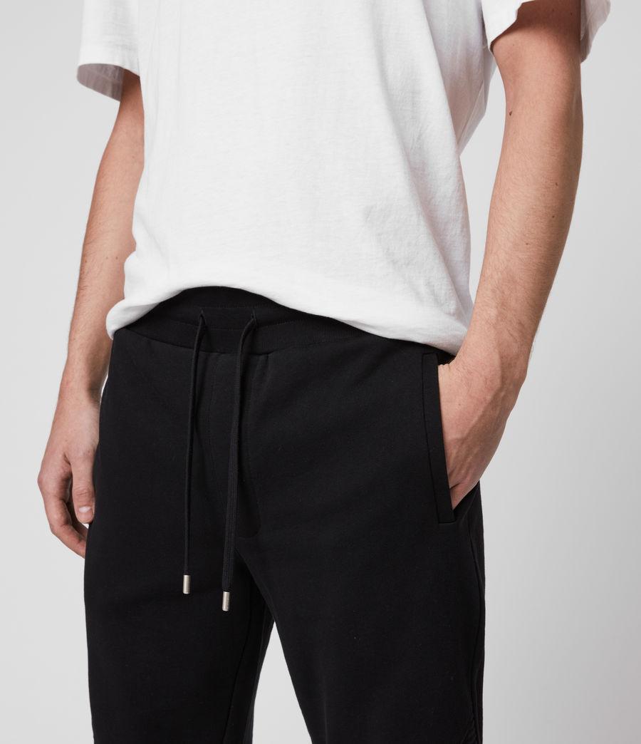 Mens Maddox Cuffed Slim Sweatpants (jet_black) - Image 2