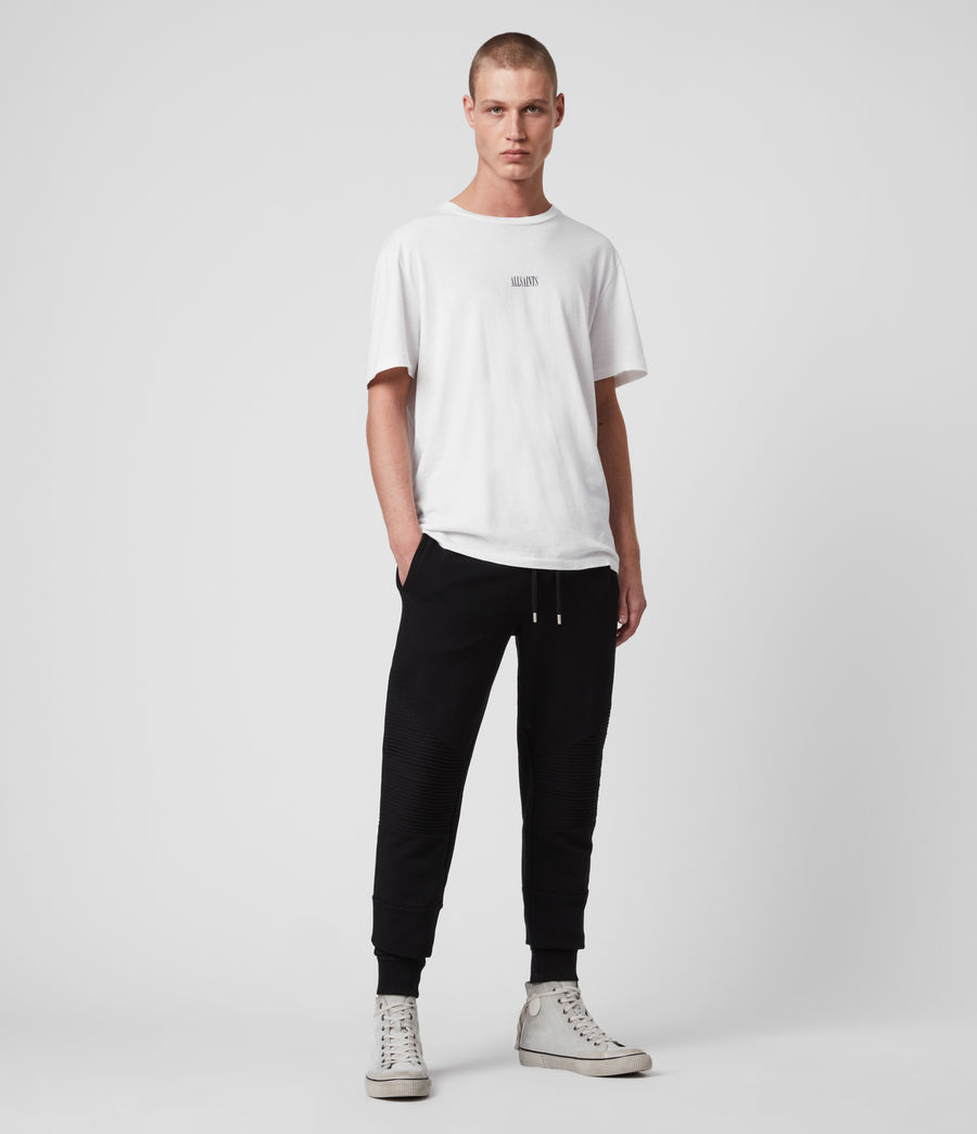 Men's Maddox Cuffed Slim Sweatpants (jet_black) - Image 3