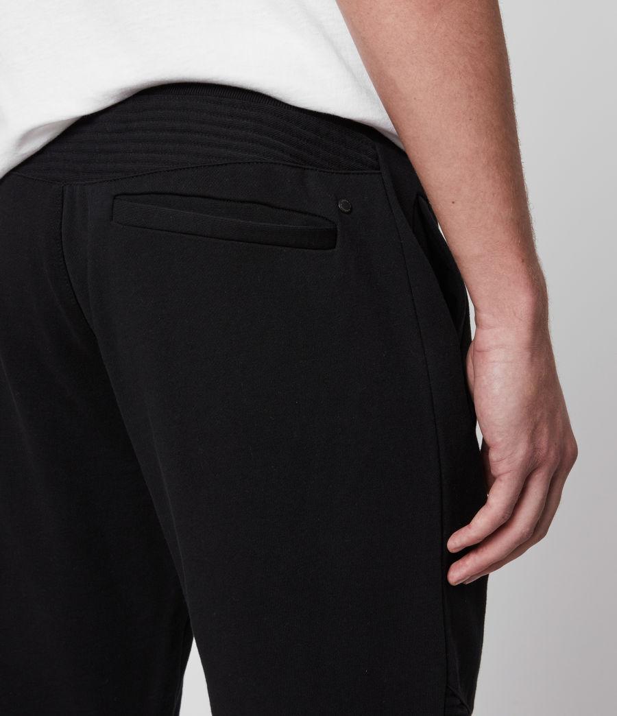 Men's Maddox Cuffed Slim Sweatpants (jet_black) - Image 5