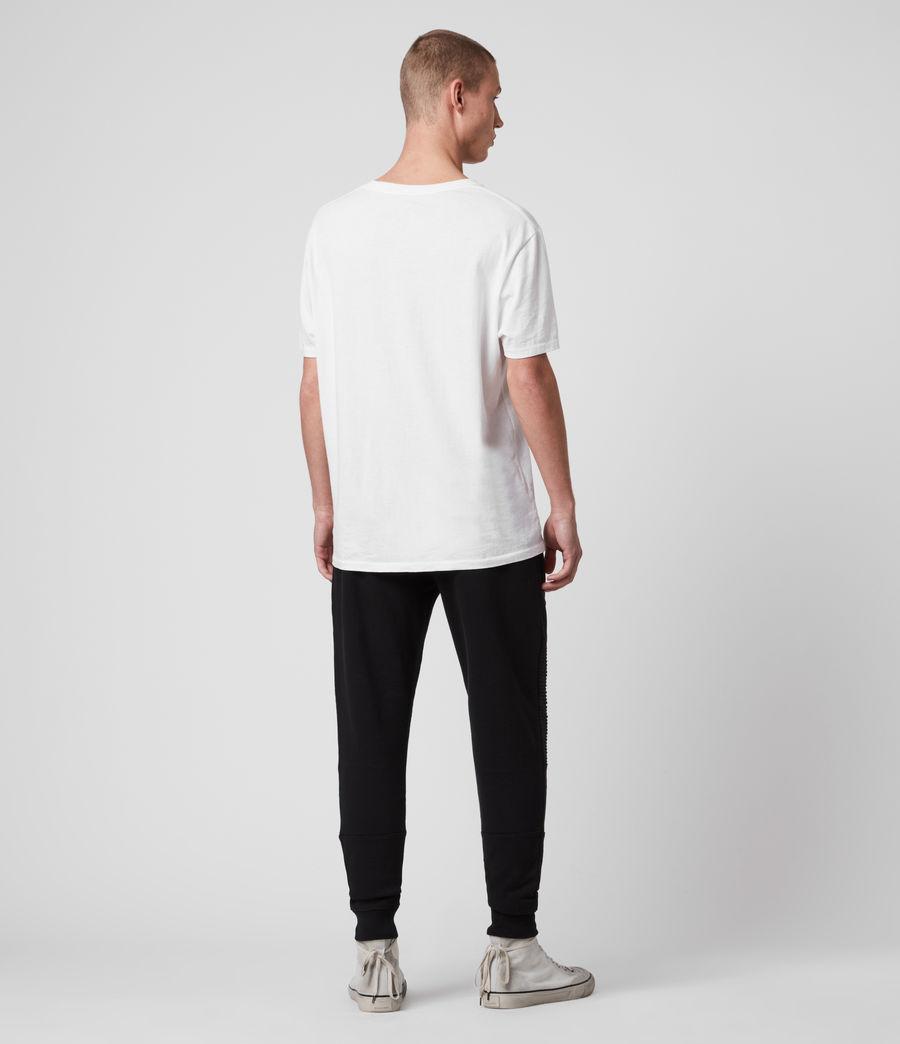 Mens Maddox Cuffed Slim Sweatpants (jet_black) - Image 4