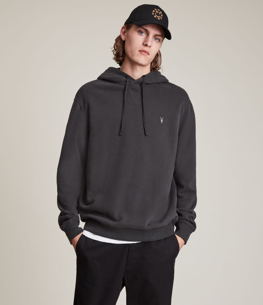 Men's Ollie Pullover Hoodie (washed_black) - Image 1