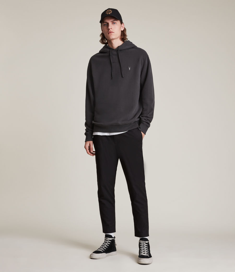 Men's Ollie Pullover Hoodie (washed_black) - Image 3