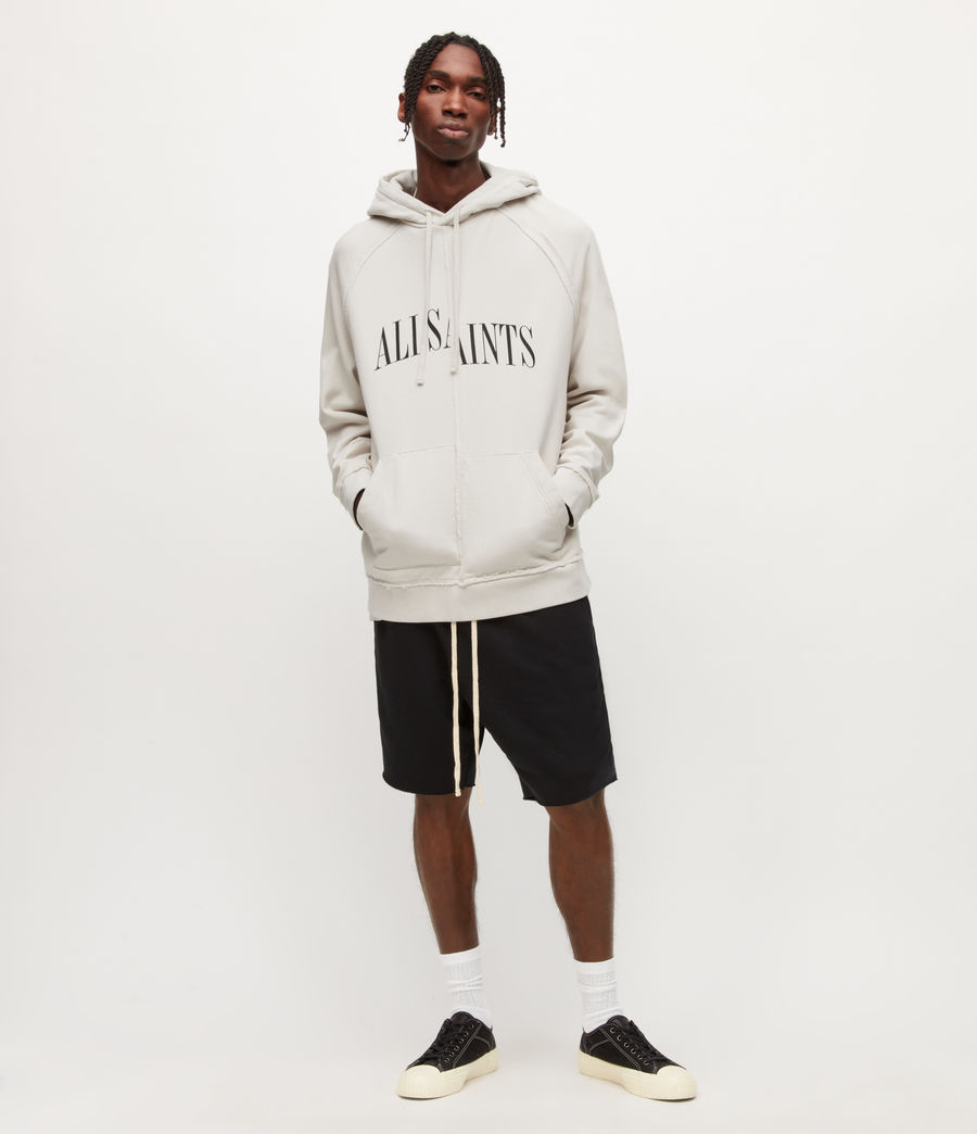 Mens Diverge Pullover Hoodie (ash_white) - Image 3