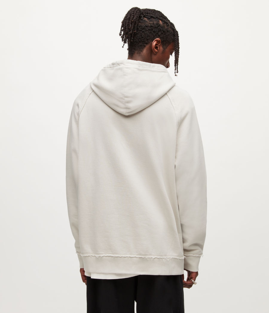 Mens Diverge Pullover Hoodie (ash_white) - Image 4