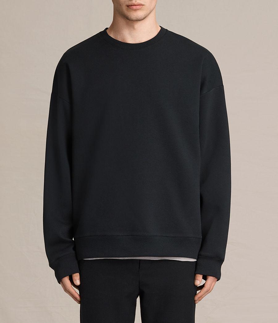 Men's Hibern Crew Sweatshirt (jet_black) - Image 1