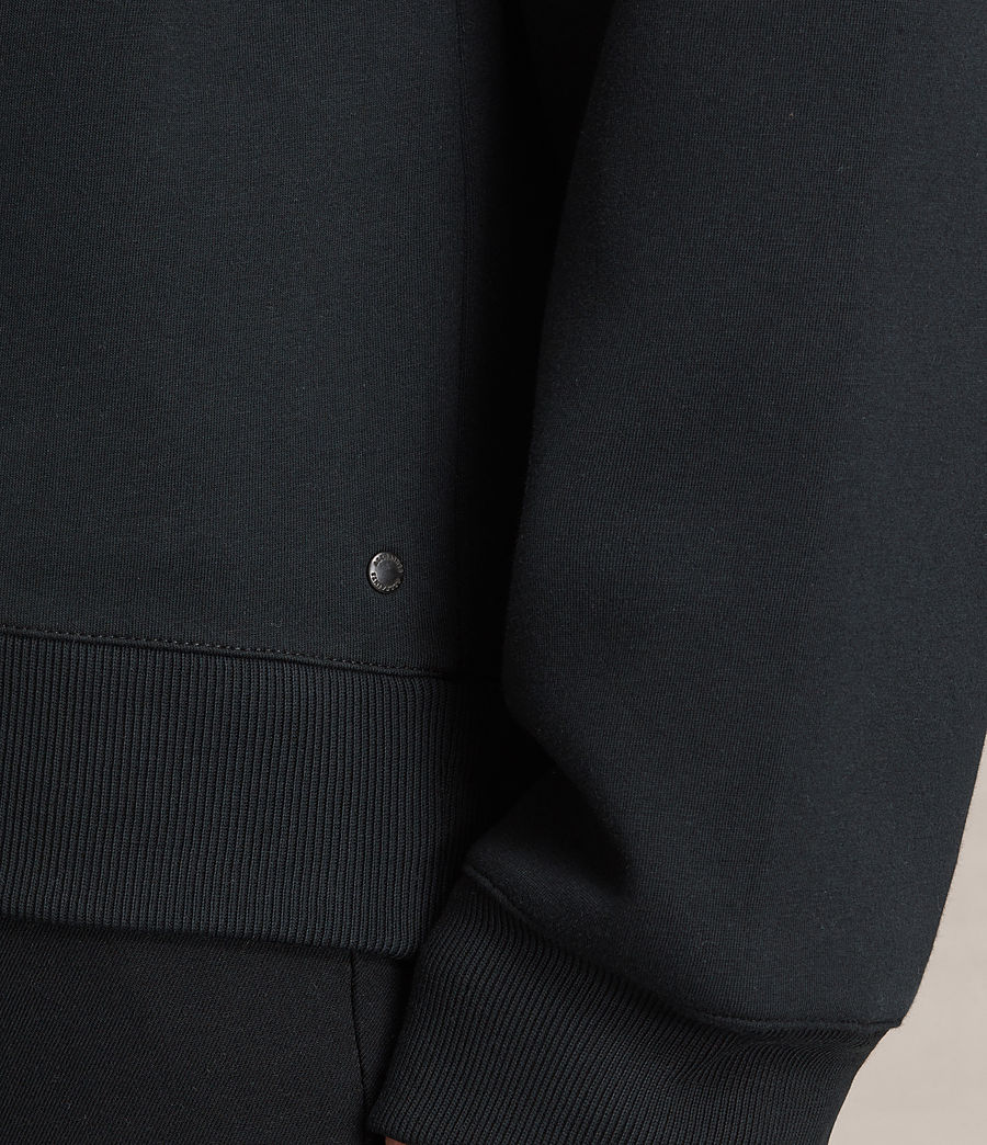 Men's Hibern Crew Sweatshirt (jet_black) - Image 2