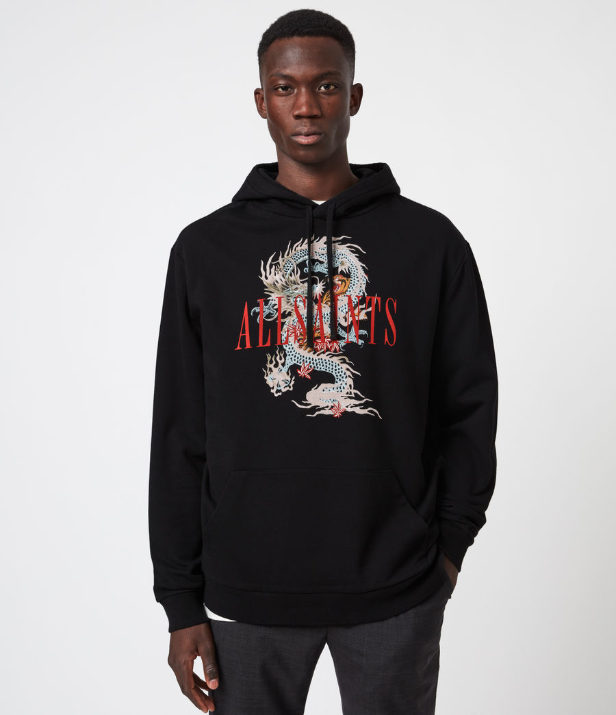 Men's DNA Pullover Hoodie (jet_black) - Image 1