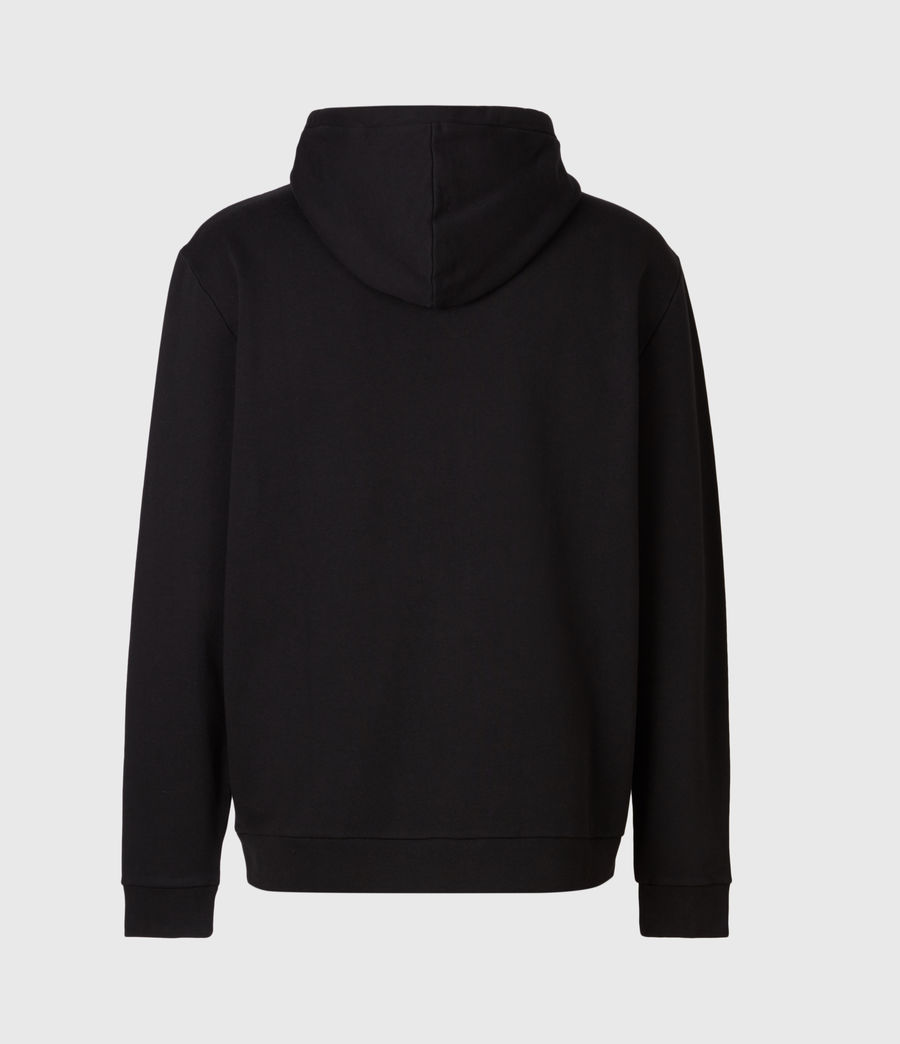Men's DNA Pullover Hoodie (jet_black) - Image 3