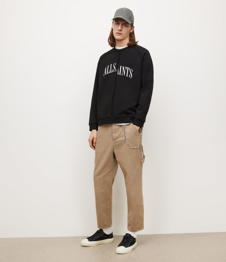 Herren Diverge Crew Sweatshirt (jet_black) - Image 3