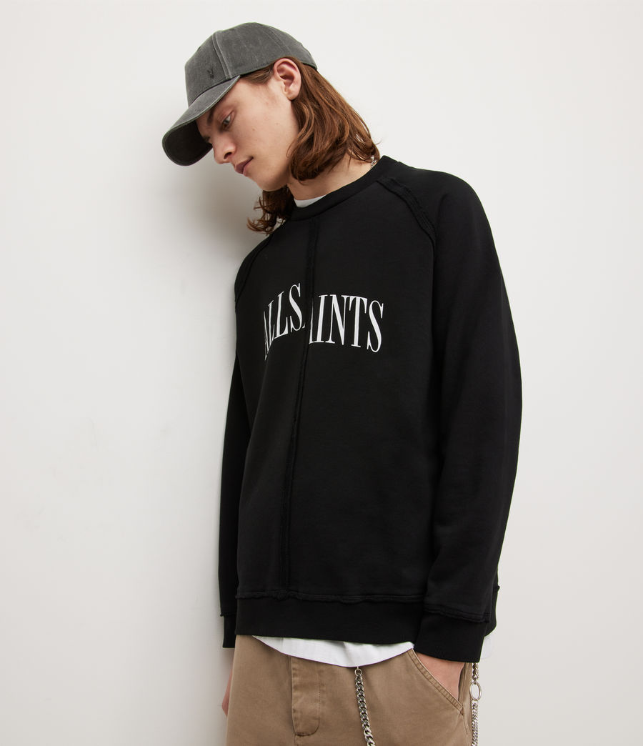 Herren Diverge Crew Sweatshirt (jet_black) - Image 4