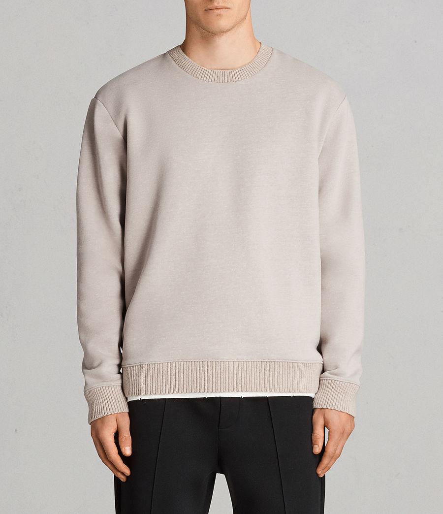 Mens Elders Crew Sweatshirt (pomise_ecru) - Image 1