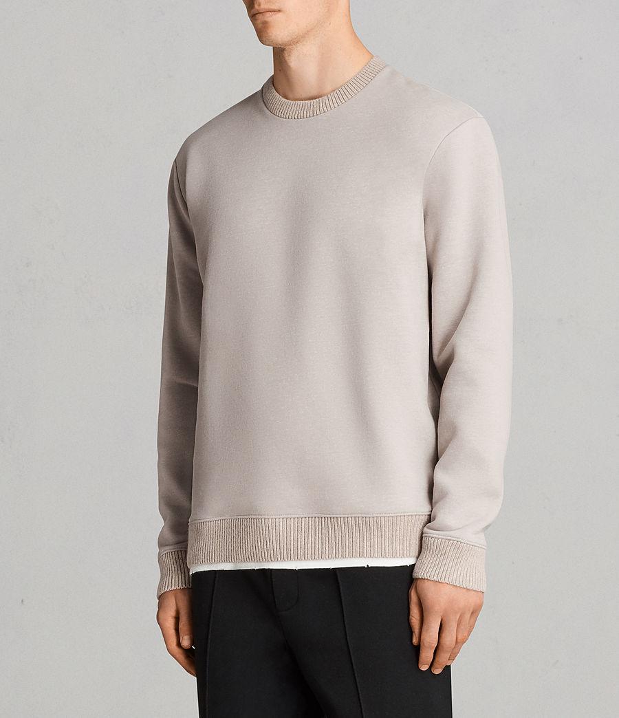 Mens Elders Crew Sweatshirt (pomise_ecru) - Image 3