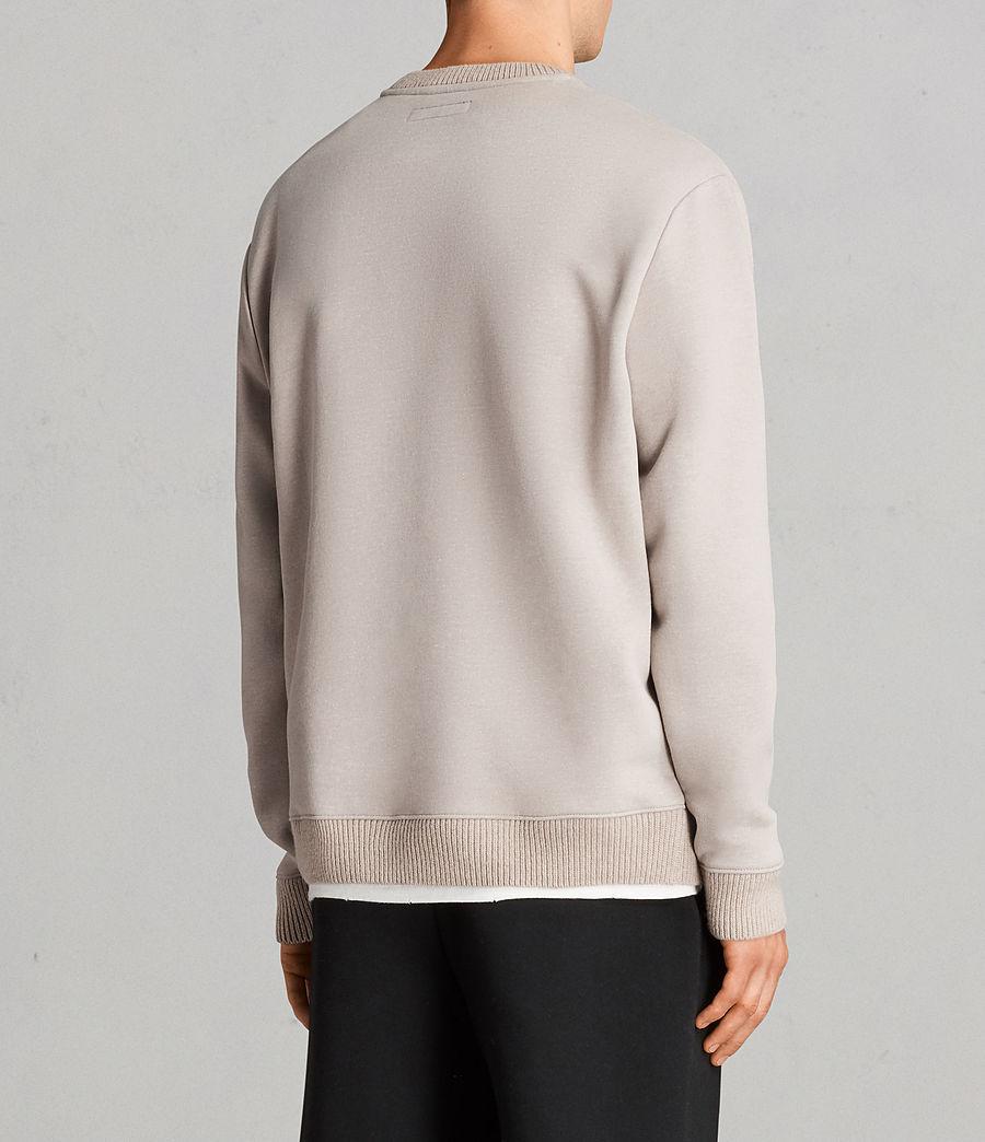 Men's Elders Crew Sweatshirt (pomise_ecru) - Image 4