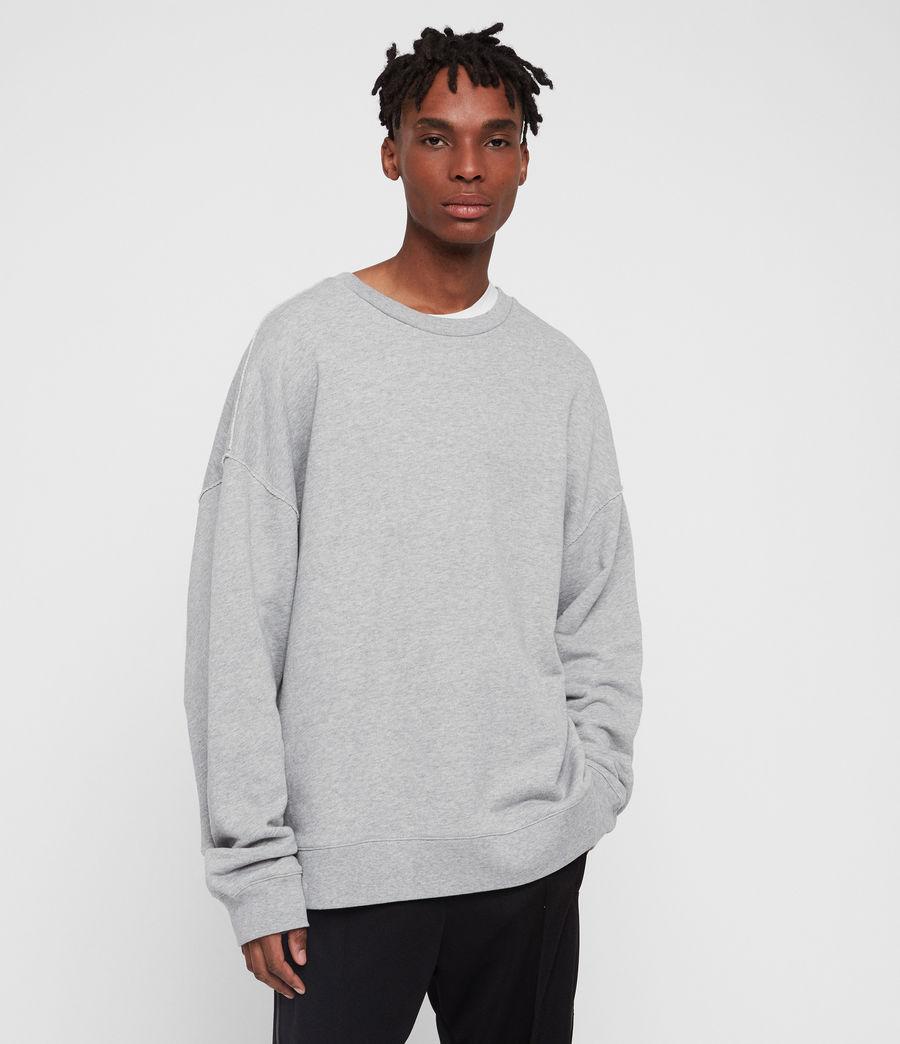 Men's Kyle Crew Sweatshirt (grey_marl) - Image 1