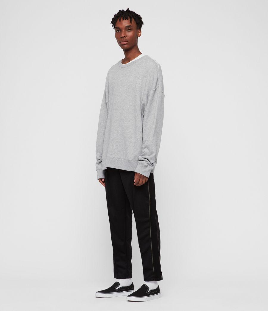 Men's Kyle Crew Sweatshirt (grey_marl) - Image 2