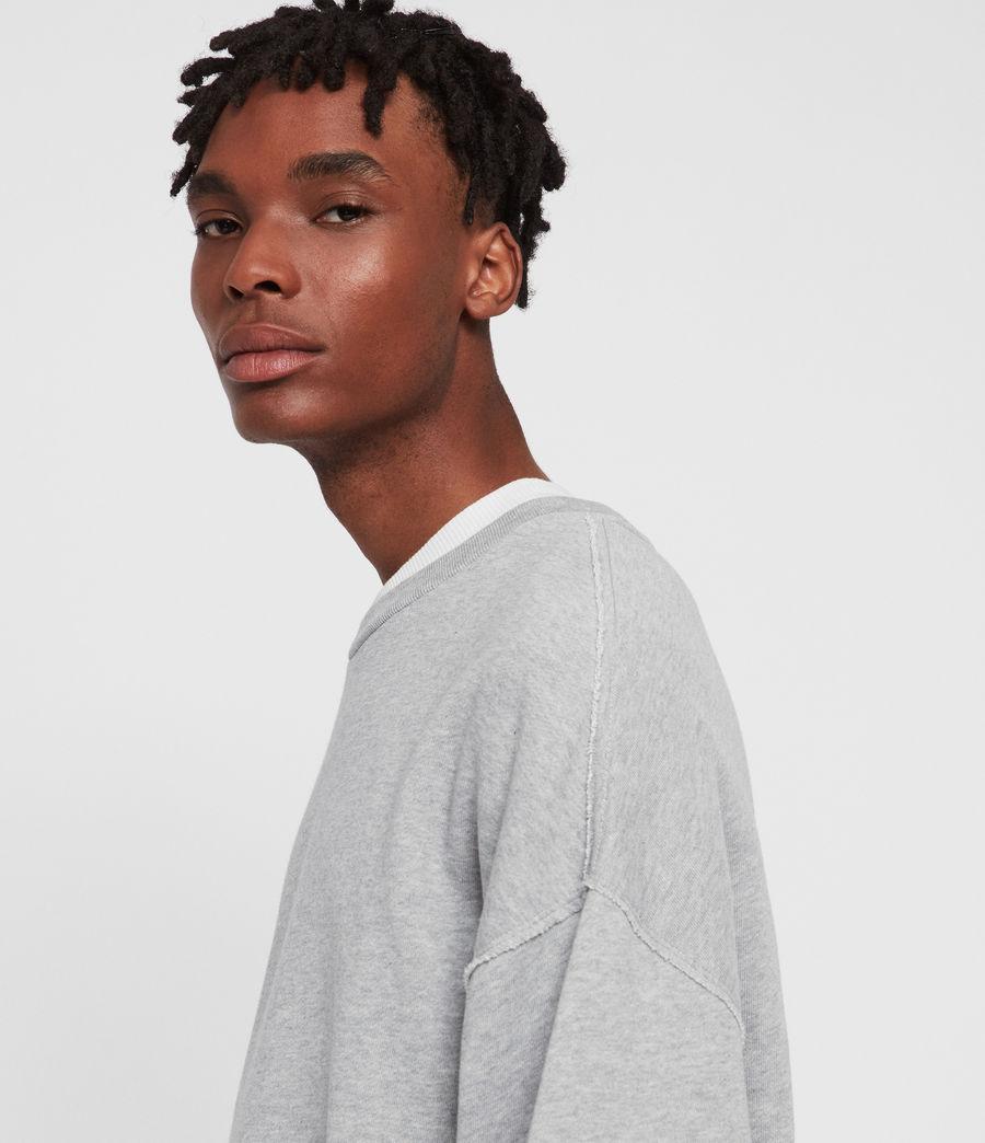 Men's Kyle Crew Sweatshirt (grey_marl) - Image 3