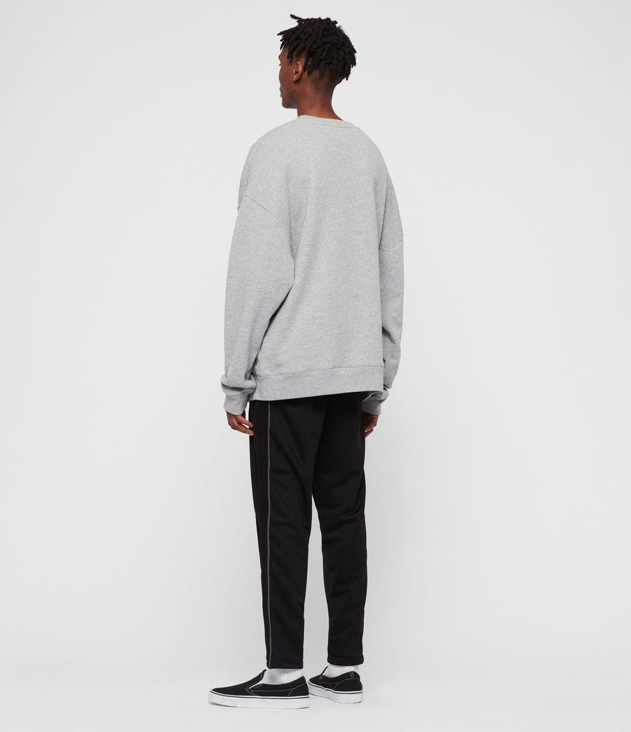 Men's Kyle Crew Sweatshirt (grey_marl) - Image 4