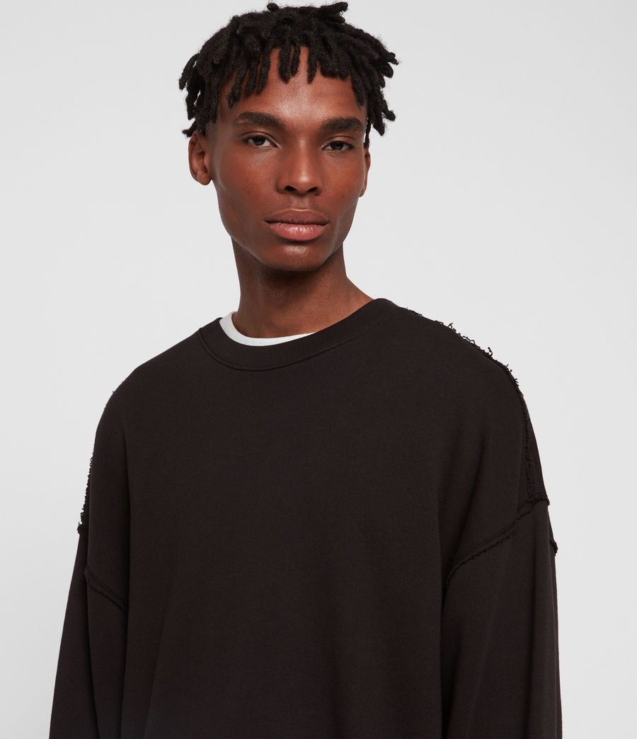 Mens Kyle Crew (washed_black) - Image 2