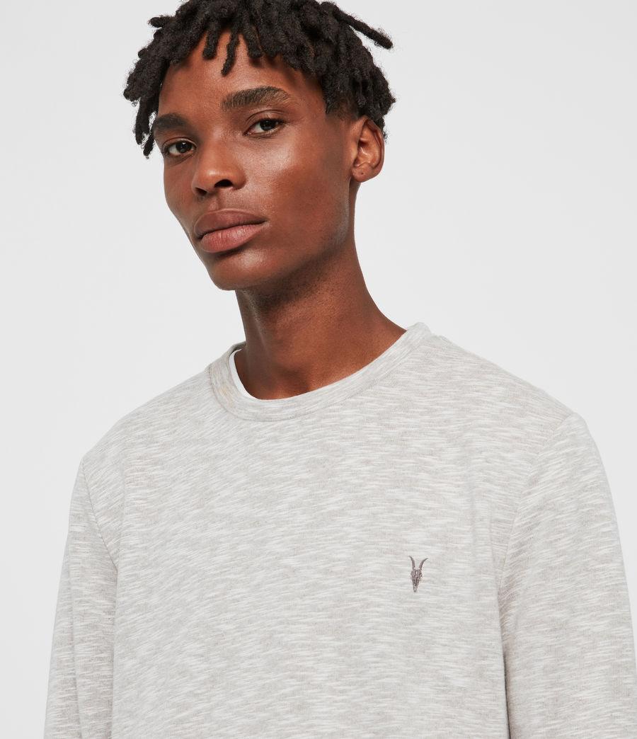 Mens Gahan Crew Sweatshirt (cement_grey_marl) - Image 2