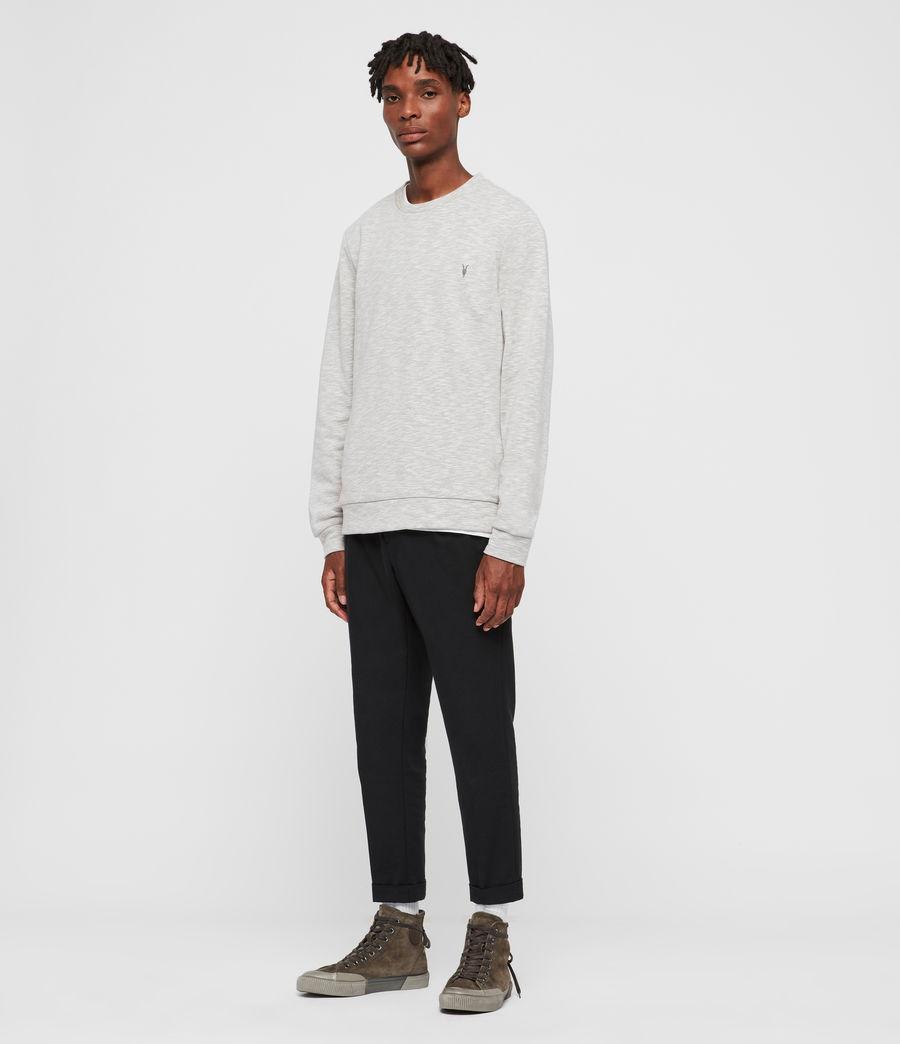 Mens Gahan Crew Sweatshirt (cement_grey_marl) - Image 3