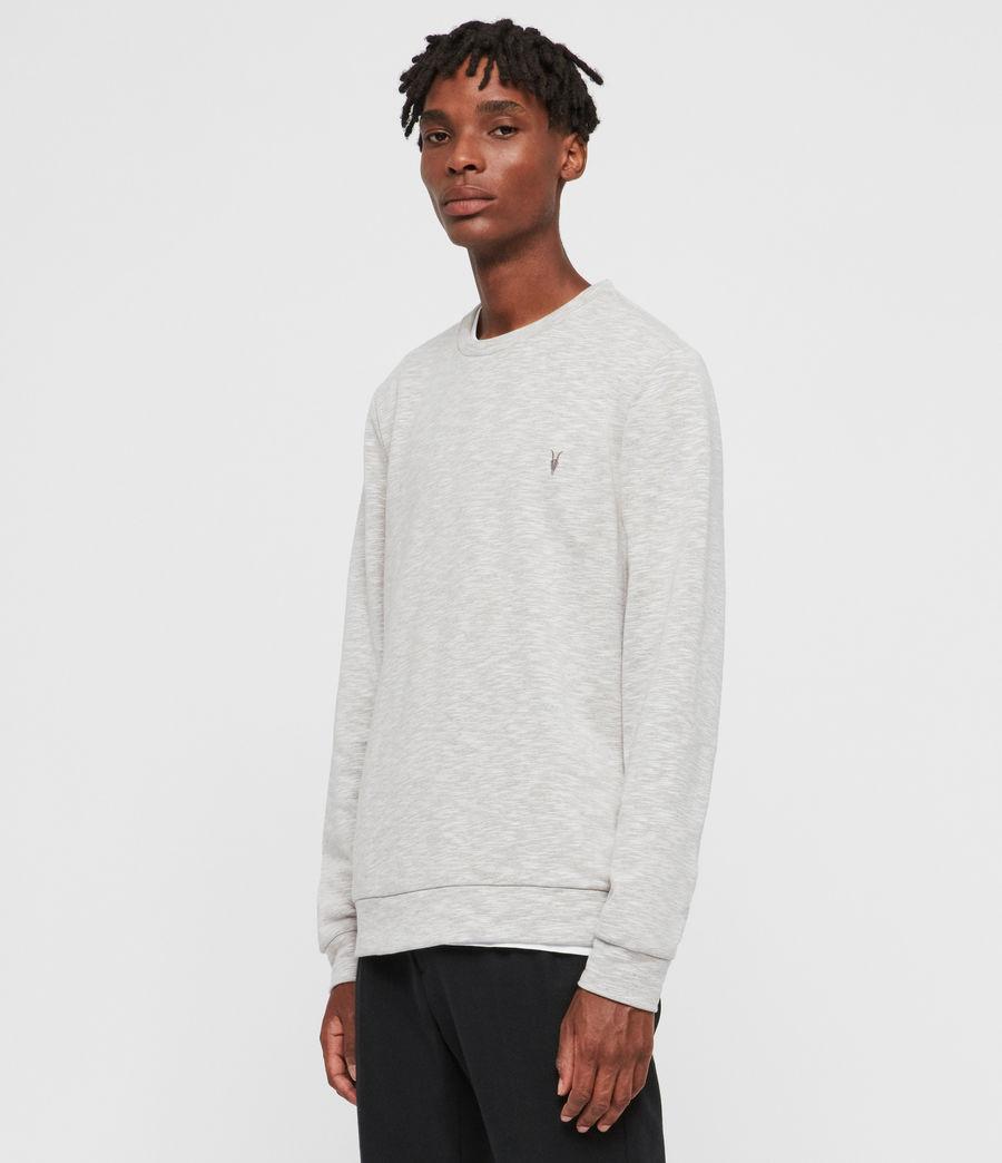 Mens Gahan Crew Sweatshirt (cement_grey_marl) - Image 4