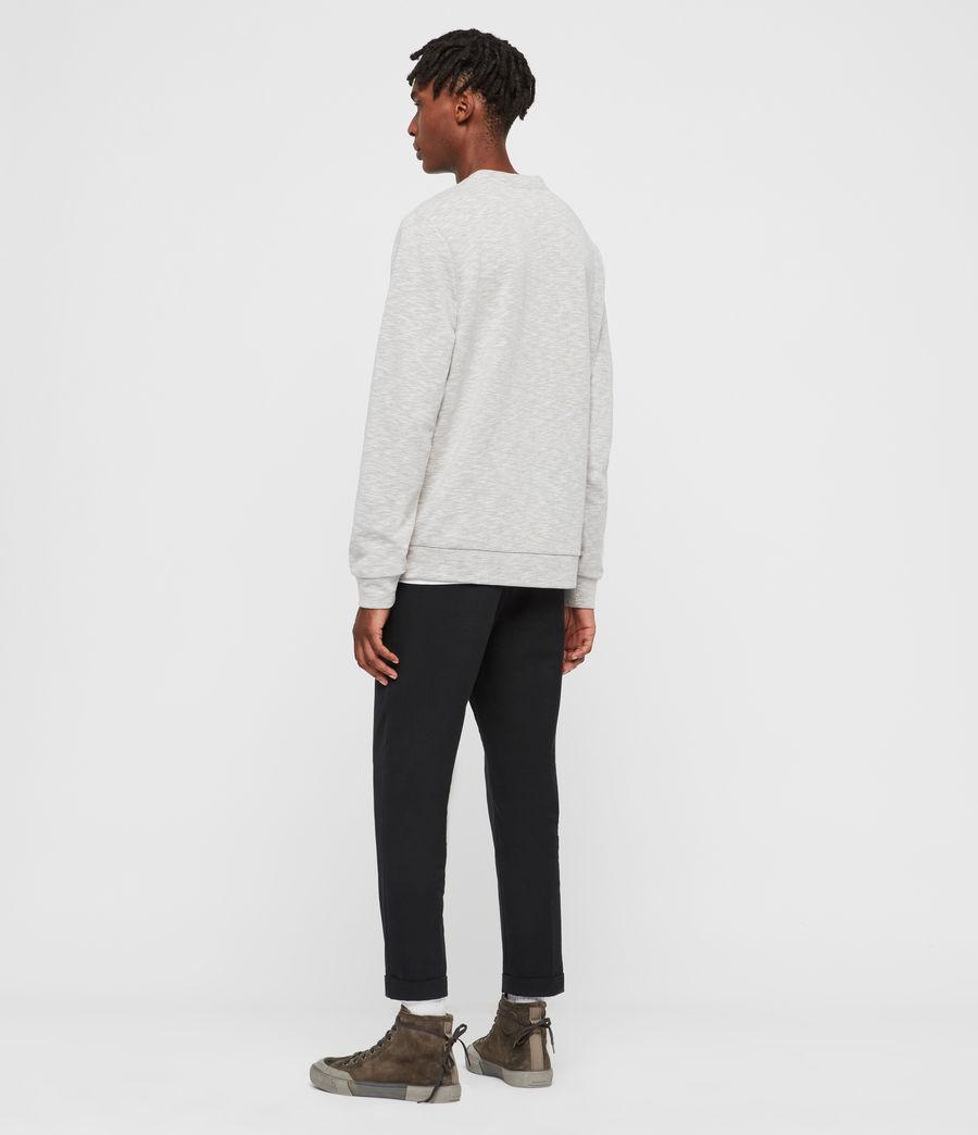 Mens Gahan Crew Sweatshirt (cement_grey_marl) - Image 5