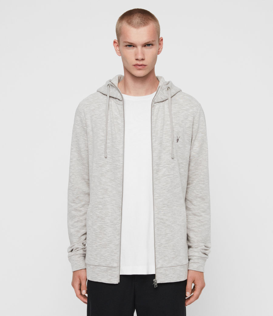 Mens Gahan Funnel Hoodie (cement_grey) - Image 1
