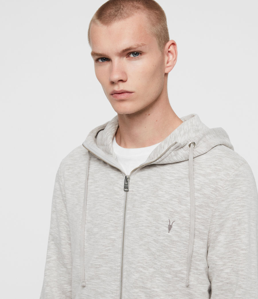 Mens Gahan Funnel Hoodie (cement_grey) - Image 2