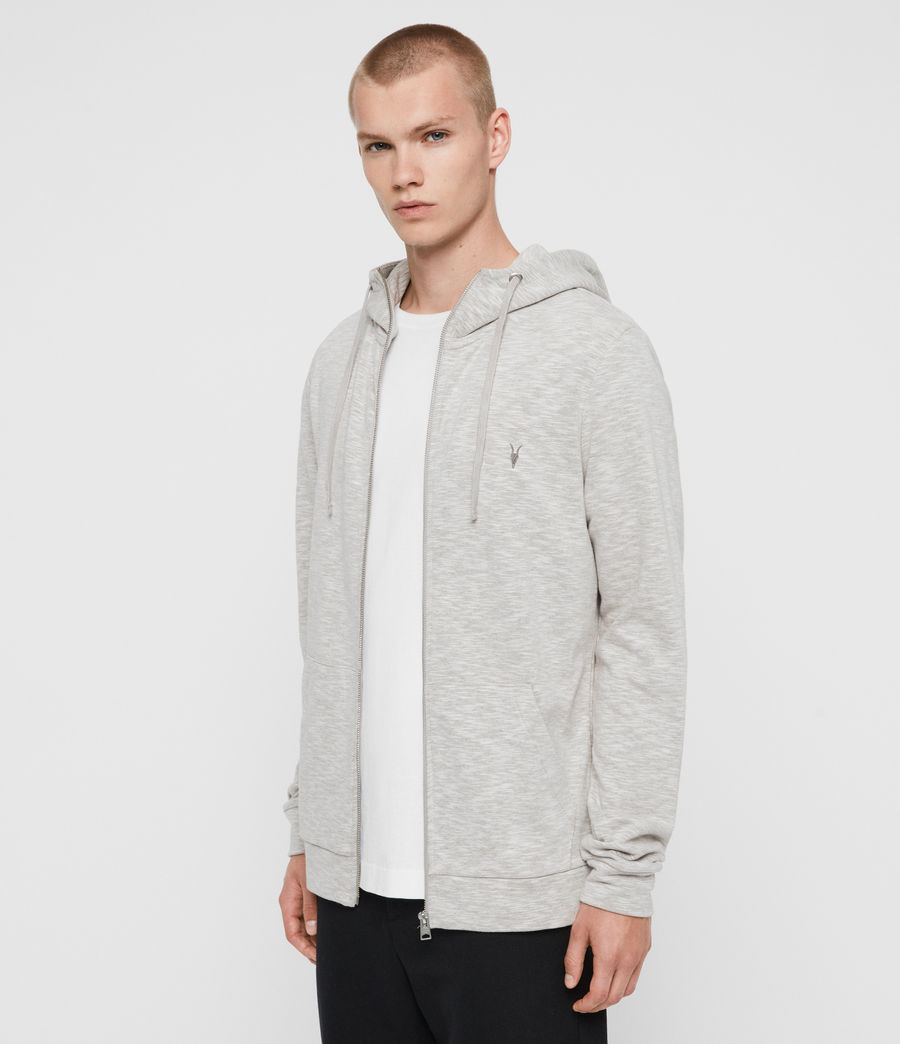 Mens Gahan Funnel Hoodie (cement_grey) - Image 3