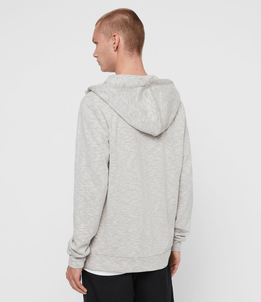 Mens Gahan Funnel Hoodie (cement_grey) - Image 4