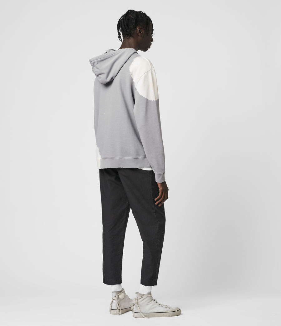 Hommes Ovid Pullover Hoodie (grey_white) - Image 5