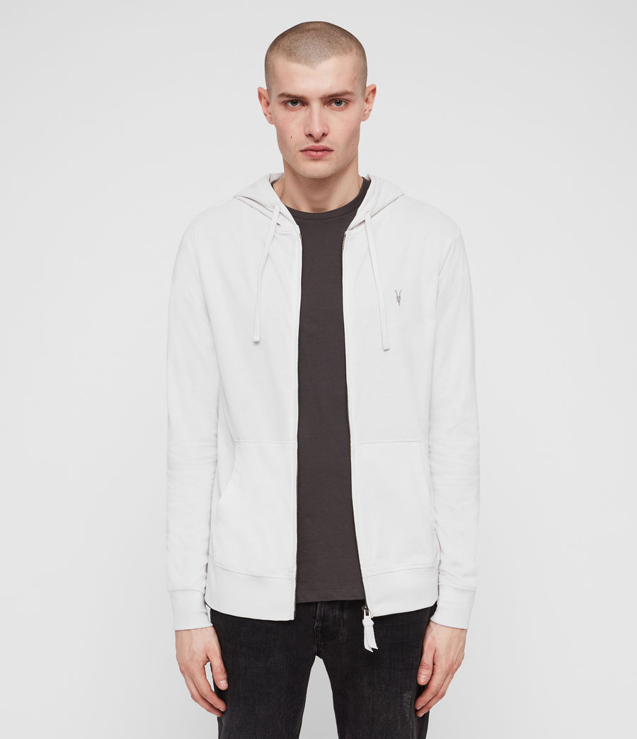 Hombres Brace Hoodie (oyster) - Image 1